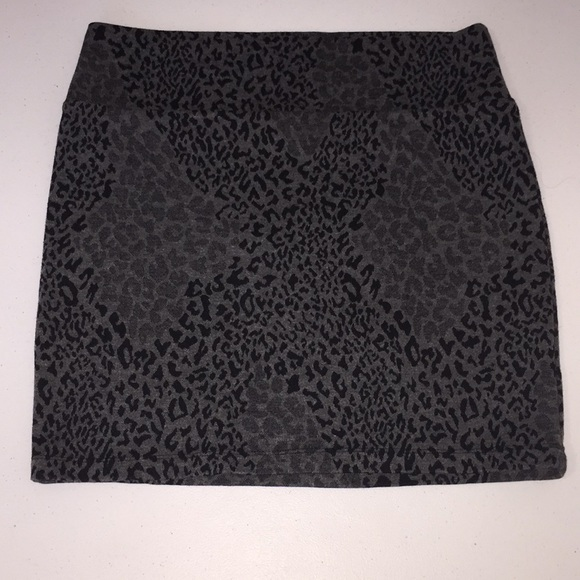 Decree Dresses & Skirts - Cheetah print mini skirt